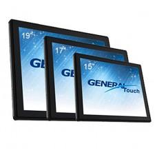 "Сенсорный экран GeneralTouch 15"", 6 мм ПАВ, USB, в рамке"